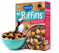 Grocery - Cereals - Barbara's Bakery - Barbara's Bakery Cereal Puffins Peanut Butter & Chocolate 10.5 oz (12 Pack)