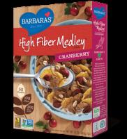 Grocery - Cereals - Barbara's Bakery - Barbara's Bakery High Fiber Medley Cereal Cranberry 13 oz (6 Pack)