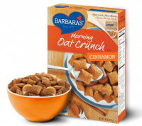 Grocery - Cereals - Barbara's Bakery - Barbara's Bakery Morning Oat Crunch Cereal Cinnamon 14 oz (6 Pack)
