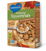 Grocery - Cereals - Barbara's Bakery - Barbara's Bakery Multigrain Squarefuls Maple Brown Sugar Cereal 12 oz (12 Pack)