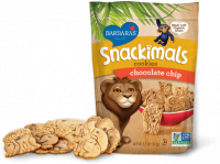 Grocery - Cookies & Sweets - Barbara's Bakery - Barbara's Bakery Snackimals Animal Cookies Chocolate Chip 7.5 oz (6 Pack)