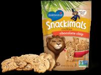 Barbara's Bakery Snackimals Animal Cookies Chocolate Chip 7.5 oz (6 Pack)