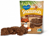 Grocery - Cookies & Sweets - Barbara's Bakery - Barbara's Bakery Snackimals Animal Cookies Double Chocolate 7.5 oz (6 Pack)