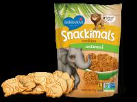Grocery - Cookies & Sweets - Barbara's Bakery - Barbara's Bakery Snackimals Animal Cookies Oatmeal 7.5 oz (6 Pack)