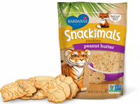 Grocery - Cookies & Sweets - Barbara's Bakery - Barbara's Bakery Snackimals Animal Cookies Peanut Butter 7.5 oz (6 Pack)