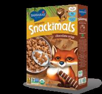 Grocery - Cereals - Barbara's Bakery - Barbara's Bakery Snackimals Breakfast Cereal Chocolate Crisp 9 oz (12 Pack)