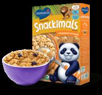 Grocery - Cereals - Barbara's Bakery - Barbara's Bakery Snackimals Breakfast Cereal Cinnamon 9 oz (12 Pack)