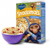 Grocery - Cereals - Barbara's Bakery - Barbara's Bakery Snackimals Breakfast Cereal Vanilla 9 oz (12 Pack)