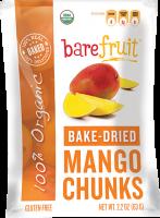 Bare Fruit Bake-Dried Mango Chunks 63g (6 Pack)