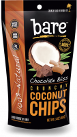 Grocery - Cookies & Sweets - Bare Fruit - Bare Fruit Chocolate Bliss Coconut Chips 40g (6 Pack)