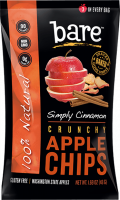 Grocery - Cookies & Sweets - Bare Fruit - Bare Fruit Cinnamon Apple Chips 48g (6 Pack)