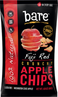 Grocery - Cookies & Sweets - Bare Fruit - Bare Fruit Fuji Apple Chips 48g (6 Pack)