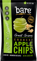 Grocery - Cookies & Sweets - Bare Fruit - Bare Fruit Great Granny Apple Chips 48g (6 Pack)