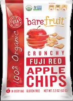 Bare Fruit Organic Fuji Red Apple Chips 63g (6 Pack)