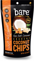 Grocery - Cookies & Sweets - Bare Fruit - Bare Fruit Sea Salt Caramel Coconut Chips 40g (6 Pack)