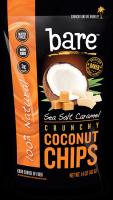Bare Fruit Sea Salt Caramel Coconut Chips 40g (6 Pack)