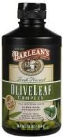 Grocery - Oils - Barleans - Barleans Olive Leaf Complex Peppermint 16 oz