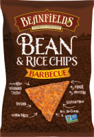 Grocery - Chips - Beanfields - Beanfields Bean & Rice Chips Barbecue 5.5 oz (12 Pack)