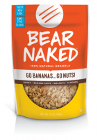 Grocery - Granola - Bear Naked - Bear Naked Go Bananas Go Nuts Granola 12 oz (6 Pack)