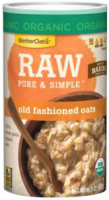 Grocery - Oatmeal - Better Oats - Better Oats Raw Pure & Simple Old Fashioned Oats 16 oz (6 Pack)