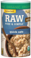 Grocery - Oatmeal - Better Oats - Better Oats Raw Pure & Simple Quick Oats 16 oz (6 Pack)