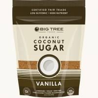 Grocery - Sweeteners & Sugar Substitutes  - Big Tree Farms - Big Tree Farms Organic Vanilla Coconut Sugar (6 Pack)