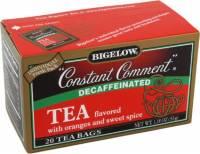 Teas & Grain Coffee - Tea - Bigelow Tea - Bigelow Tea Constant Comment Decaffeinated Black Tea - 20 Bags