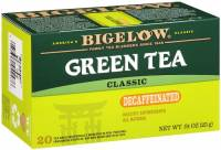 Teas & Grain Coffee - Tea - Bigelow Tea - Bigelow Tea Decaffeinated Green Tea 20 Bags