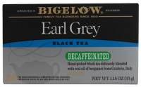 Teas & Grain Coffee - Tea - Bigelow Tea - Bigelow Tea Earl Grey Decaffeinated Tea 20 Bags
