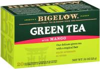 Bigelow Tea - Bigelow Tea Green Tea with Mango 20 Bags