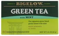 Bigelow Tea - Bigelow Tea Green Tea with Mint 20 Bags