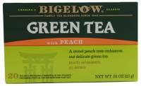 Bigelow Tea - Bigelow Tea Green Tea with Peach 20 Bags
