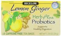 Bigelow Tea - Bigelow Tea Lemon Ginger Herb Plus Tea 18 Bags