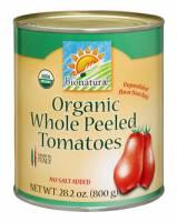 Bionaturae Organic Whole Peeled Tomatoes 28.2 oz (12 Pack)