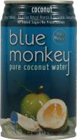 Grocery - Beverages - Blue Monkey - Blue Monkey Pure Coconut Water 100% Natural 11.2 oz (24 Pack)