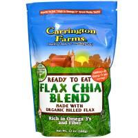 Carrington Farms Organic Flax Chia Blend 12 oz (6 Pack)