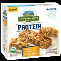 Grocery - Nutrition Bars - Cascadian Farm - Cascadian Farm Honey Roasted Nut Protein Chewy Bars 5 ct (12 Pack)