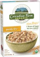 Grocery - Cereals - Cascadian Farm - Cascadian Farm Purely O`s Cereals 8.6 oz (12 Pack)