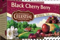 Gluten Free - Tea & Grain Coffee - Celestial Seasonings - Celestial Seasonings Black Cherry Berry Herbal Tea - 20 Bags