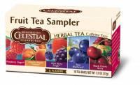Gluten Free - Tea & Grain Coffee - Celestial Seasonings - Celestial Seasonings Fruit Tea Sampler Herbal Tea - 18 Bags