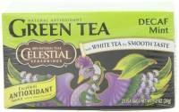 Gluten Free - Tea & Grain Coffee - Celestial Seasonings - Celestial Seasonings Mint Decaffeinated Green Tea - 20 Bags