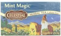 Gluten Free - Tea & Grain Coffee - Celestial Seasonings - Celestial Seasonings Mint Magic Herbal Tea - 20 Bags