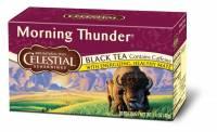 Gluten Free - Tea & Grain Coffee - Celestial Seasonings - Celestial Seasonings Morning Thunder Herbal Tea - 20 Bags