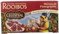 Gluten Free - Tea & Grain Coffee - Celestial Seasonings - Celestial Seasonings Moroccan Pomegranate Red Herbal Tea - 20 Bags