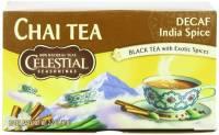 Gluten Free - Tea & Grain Coffee - Celestial Seasonings - Celestial Seasonings Original India Decaffeinated Chai Tea - 20 Bags