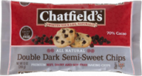 Grocery - Cookies & Sweets - Chatfield's - Chatfield's Double Dark Semi-Sweet Chips 10 oz (12 Pack)