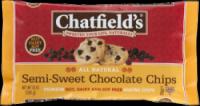 Chatfield's Semi-Sweet Chocolate Chips 10 oz (12 Pack)