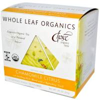 Specialty Sections - Non-GMO - Choice Organic Teas - Choice Organic Teas Chamomile Citrus Whole Leaf Organics (15 bags)