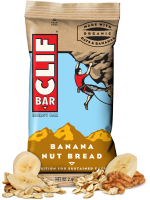 Grocery - Nutrition Bars - Clif Bar - Clif Bar Clif Bar 2.4 oz- Banana Nut Bread (12 Pack)