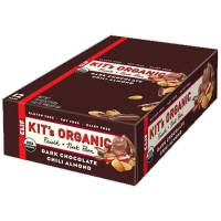 Grocery - Nutrition Bars - Clif Bar Kit's Organics - Clif Bar Kit's Organics Fruit and Nut Bar 1.76 oz - Dark Chocolate Chili Almond (12 ct)